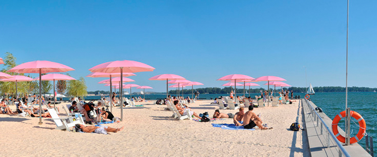 praias de Toronto