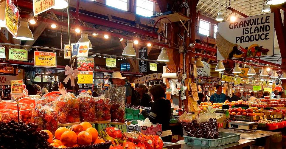 mercados de Vancouver